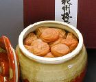 うす塩紀州梅「匠」(塩度:10%、酸度:4%)(壷焼入り) 650g