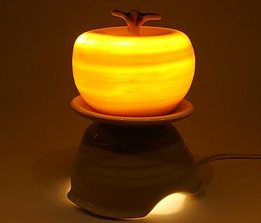 HiDe ceramic worksアロマランプ アップル