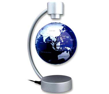 【STELLANOVA】 MAGNETIC LEVITATING GLOBE BLUE 10cm