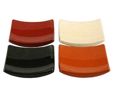 スクエア豆皿 5枚セット(4色から)