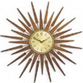 【NEW GATE】Sunburst Clock